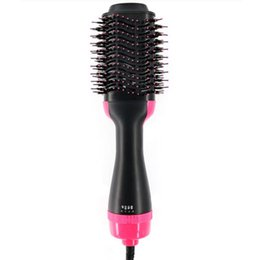 $enCountryForm.capitalKeyWord Australia - 2 in 1 Electric Hair Brush Curler Roller Multifunctional Hair Dryer Rotating Styler Comb Styling Rotate Curling Iron Hot
