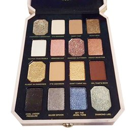 Eight Diamonds Australia - New Makeup palette Face Pretty Rich 16colors Eyeshadow palette Diamond Eye Shadow 60pcs DHL shipping