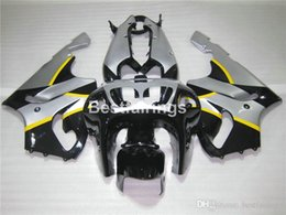 $enCountryForm.capitalKeyWord Australia - 7 free gifts fairing kit for Kawasaki Ninja ZX7R 96 97 98 99 00-03 silver black fairings kits ZX7R 1996-2003 TY31