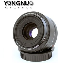 Wholesale Freeshipping New Arrival Original Lens YN mm f Large Aperture Wide angle Auto Focus Lens for Canon EOS DSLR Camera
