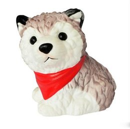 Husky Toys UK - Squishy Simulation Dog Toy Cute PU Husky Molding Foaming Slow Rebound Decompression Novelty Squeeze Toys Children Gift High Quality