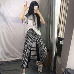 Wholesale womens pants for sale – dress NEW womens Pants Fashion women Sports Jogger Pants Long Elastic Waist Trousers Pantalones