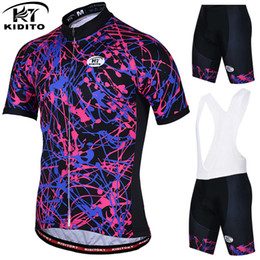 ae7f4433d KIDITOKT 2019 Summer Cycling Jersey Set Cycling Clothing Suit Short Sleeve MTB  Bicycle Clothes Mountain Bike Sportswear