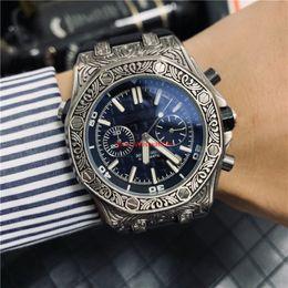 Discount valentine men watches - 3A All Subdials Work Hot Mens Watch Stainless Steel Quartz Wrist watch Stopwatch Luxury Watch Top Brand relogies for men