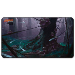 Magic Board Game Playmat:Inkmoth Nexus 60*35cm size Table Mat Mousepad Play Matwitch fantasy occult dark female wizard on Sale