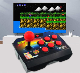 $enCountryForm.capitalKeyWord Australia - New Retro Joystick Video Game Consoles 16 Bit With 145 Arcade Games ABS Console Players Stick Controller Console AV Cable