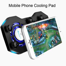 Discount coolest phone holders - COOlCOLD G1 Phone Cooling Pad Gaming Cooler Radiator Fans Mute Heatsink With Ring Holder Stand Portable Rechargeable Pow
