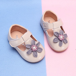 $enCountryForm.capitalKeyWord NZ - COZULMA Baby Girl Flower Casual Shoes Toddler Kids Party Anti-slip T-Strap Flat Shoes Baby Spring Non-slip New Size 15-25