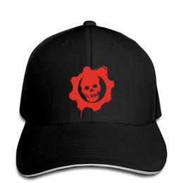 $enCountryForm.capitalKeyWord Australia - Baseball Cap Gears Of War logo Hat Peaked cap
