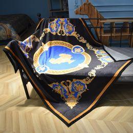 $enCountryForm.capitalKeyWord Australia - Luxury designer brand comfortable bedding and outdoor blanket creative patterns double layer thicken blanket shawl Christmas new Year