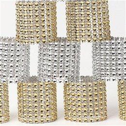 $enCountryForm.capitalKeyWord UK - Small Cnapkin Ring Hollow Out 8 Row Net Drill Napkin Rings Hotel Pendulum Table Wedding Easy Carry 0 4ls cc