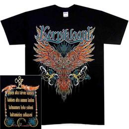 $enCountryForm.capitalKeyWord Australia - Korpiklaani Owl Shirt S M L XL XXL XXXL Folk Metal Tshirt Official T-Shirt New Men Women Unisex Fashion tshirt Free Shipping black