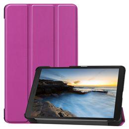 $enCountryForm.capitalKeyWord Australia - 100pcs Book Flip Tablet Cover Case for Samsung Galaxy Tab A 8.0 SM-T290 T295 T297 T290 2019 Tablet + Stylus Pen