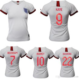 cdec296c1 2019 ENGLAND WOMEN SOCCER JERSEYS girls WORLD CUP HOME WHITE AWAY RED  Camiseta De Futbol 19 20 JERSEY FOOTBALL SHIRTS Maillot De Foot