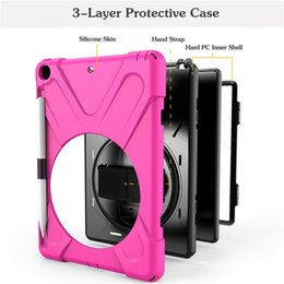$enCountryForm.capitalKeyWord Australia - For iPad 9.7 2017 2018 Shockproof Kids Protector Case For iPad2 3 4 Heavy Duty Silicone Hard Cover kickstand design Hand Pen Sleeve