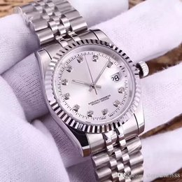 analog wrist watch sale Australia - Women Watch Diamond Automatic Movement Watches Ladies Montre Day Wrist Watches Just Style Clock 316L Stainless Steel Sapphire 36mm Dial Sale