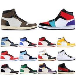 $enCountryForm.capitalKeyWord Australia - Cheaper Obsidian Travis Scotts High OG GYM RED 1 Basketball shoes Spiderman UNC 1s top 3 Phantom Mens Trainers Sports Designer Sneakers