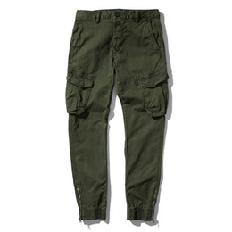 $enCountryForm.capitalKeyWord Australia - Men High Street Fashion Hip Hop Casual Cargo Pant Male Harem Pant man Jogger Sweatpants 2018 Autumn zipper Trousers 38