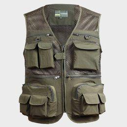 $enCountryForm.capitalKeyWord NZ - Men's Summer Pro Journalist Photographer Studio Work Multifunctional Vest Tactical Vest Coat Fashion Mesh Work Sleeveless Jacket