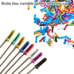 Cable Ends Australia - Cycling Bike Brake Cable Tips Crimps - MTB Road Bike Brake Cable End - Shift Cable Core Cap Wire Ferrules Bicycle Accessory