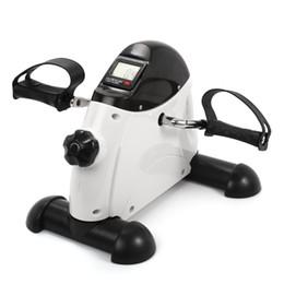 Großhandel Pedal Heimtrainer Mini-Bike nach Hause Fitness-LCD-Display Multifunktions-Indoor-Cycling-Stepper Mini-Luftdruck
