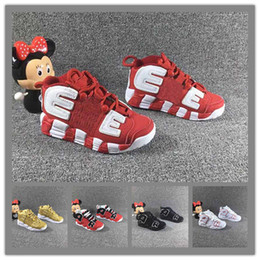 $enCountryForm.capitalKeyWord Australia - 2019 Unisex Kids Air More Uptempo Basketball Shoes for youths Boys Pippen Sneakers Girls Sports Child Athletic Children Sneaker Size 28-35