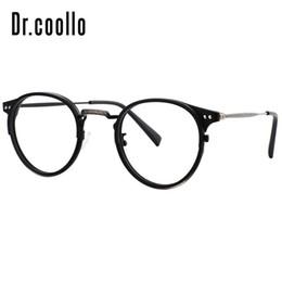 41f7b93a216 Round Retro Vintage Custom Prescription Eyeglasses Fake Glasses Frames  Optical Computer Eyewear Reading Spectacle Frames