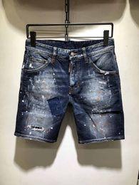 $enCountryForm.capitalKeyWord Australia - 2019 New Mens Jeans Designer Zipper Ripped Hole Stretch Denim Shorts Mens Casual Fashion Popular Denim Shorts