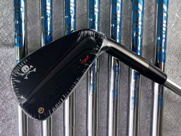 Paintings Free Delivery Australia - New Golf Club TOUR MB Black Skull Limited Edition Irons 7 piece Suits White Paint 4-9,P Loft With Head Cover Free Delivery