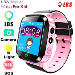 Waterproof Wrist Watches Australia - Q528 Smart Watch Children Wrist Watch Waterproof Baby With Remote Camera SIM Calls Gift Monitor SOS for Baby PK Q50 SmartWatch