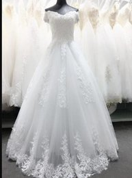 model vintage dress NZ - 2020 Vintage Wedding Dresses A Line Off Shoulder Lace Applique Floor Length Bridal Gowns Backless Plus Size Wedding Gowns