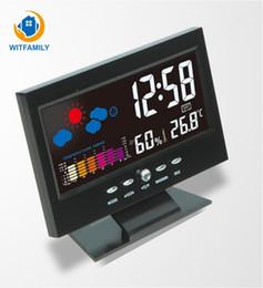 $enCountryForm.capitalKeyWord Australia - Multi-function Large-screen Digital Alarm Clock Weather Station Temperature Sensor Perpetual Calendar with Backlight Watch