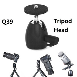 $enCountryForm.capitalKeyWord Australia - Q39 Mini Ball Head Tripod Heads 1 4'' Hot Shoe Mount Stand adapter for Monopod Tripod Light Stand Canon Nikon DSLR DV Camera