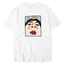 2ae27be5e Lettbao I Am Cool Funny Tshirt Comfortable Tee Shirt Homme Tops Cotton  Ulzzang Men Collar T Shirt Harajuku Korean Men's T-shirts