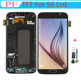 $enCountryForm.capitalKeyWord NZ - 1PC G920f lcd For SAMSUNG GALAXY S6 G920 G920F LCD Display Touch Screen Digitizer Replacement with Frame For Samsung S6 Display