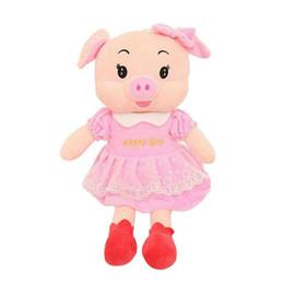 $enCountryForm.capitalKeyWord NZ - Pig Plush Toy Kids Soft Stuffed Animals Dolls Baby Girls Cartoon Gifts Toys for Children 55cm