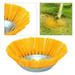 grass brush cutter Canada - Universal Grass Trimmer Head for Lawn Mower Garden Tools Brush Cutter Blades Nylon Blades Steel Hedge Grass Trimmer Head