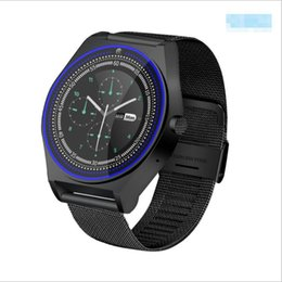 Touch Screen Watches For Men Australia - 2019 N9 Smart Watch Men Support SIM TF Cards For Android IOS Phone Camera Touch Screen Bluetooth Watch With Russia PK A1 GT08