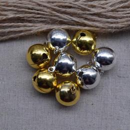 $enCountryForm.capitalKeyWord Australia - Fashion Metal Small Jingle golden silver can choose 18mm Bell wedding Decoration Jewelry Finding Free Shipping 50pcs lot 11252