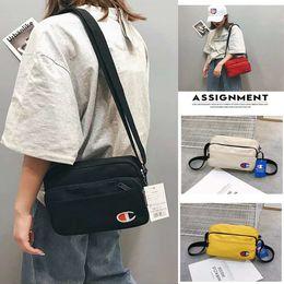 $enCountryForm.capitalKeyWord NZ - Unisex Champion Print Shoulder Bag Mini Backpacks Double Zipper Fanny Pack Belt Crossbody Messenger Bags Sports Travel Storage Bag C42306