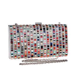 $enCountryForm.capitalKeyWord Australia - Acrylic Candy Color Clutch Bag Lady Party Wedding Evening Bag Shoulder Chain Purse Handbags For 2019 Women Evening Bags
