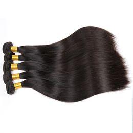 Großhandel 10 Jahre Berufsfabrik-Versorgungsmaterial-gerades Haar-Häutchen malaysisches Haar ausgerichtet
