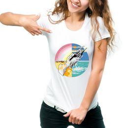 $enCountryForm.capitalKeyWord Australia - Machine t shirt Welcome to short sleeve tops Robot handshake unisex fastness tees Colorfast print clothing Pure color modal tshirt