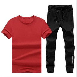 Polo Sportswear Australia - man Polo punk clothing Men's Sport Running Suits Basketball Soccer Training Tracksuits Jersey Summer Fitness Sportswear Gym Clothing Sets