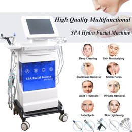 $enCountryForm.capitalKeyWord Australia - Professional microdermabrasion ultrasonic machine hydra facial dermabrasion peeling BIO microcurrent face lift PDT LED acne therapy device