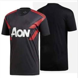 576ad8fa237 18 19 training jersey shirt LUKAKU 2018 2019 POGBA UTD JERSEY MARTIAL MATA  ALEXIS Camiseta futbol RASHFORD maillot
