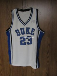 ed3398bee Cheap custom NCAA DUKE BLUE DEVILS BASKETBALL JERSEY   23 Shelden Williams Stitched  Customize any number name MEN WOMEN YOUTH XS-5XL