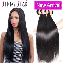 dhgate 16 inch brazilian hair NZ - hair bundles shining star human hair extension weave 3 weft on dhgate high quality low price hair bundlles