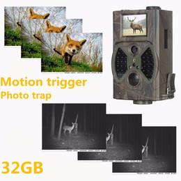 Suntek Camera Australia - Suntek Photo Traps Deer Hunting Trail Camera 1080P 940NM Night Vision Hunting Cameras Digital Infrared Cams Traps HC300A
