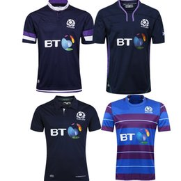 Wholesale body fit shirts resale online – Scotland Rugby Jerseys home SCOTLAND RUGBY M18 HOME PRO SHIRT BODY FIT NAV PURP TGRN s xl